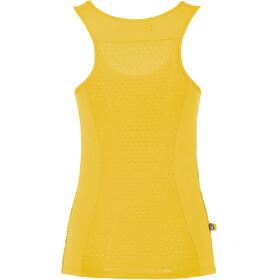 E9 Dona - Haut sans manches Femme - jaune/violet